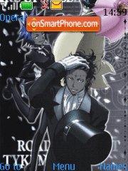 D-Gray Man tema screenshot