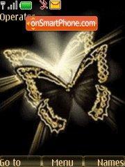 Butterfly tema screenshot