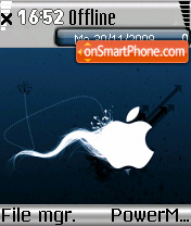 Apple Logo theme screenshot