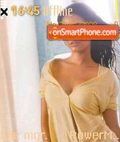 Amritha Rao theme screenshot