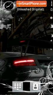 Aston Martin 05 theme screenshot