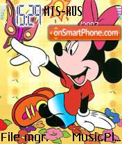 Minnie Mouse 1 theme screenshot