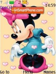 Minnie Mouse es el tema de pantalla