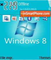 Win-8 theme screenshot