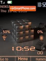 Cub clock signal theme screenshot