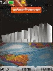 William Name theme screenshot