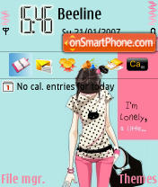 I'm Lonely es el tema de pantalla