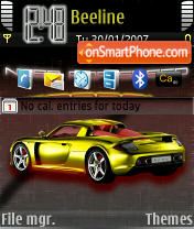 Porsche Carbon es el tema de pantalla