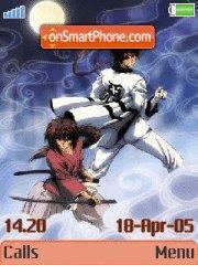 Kenshin&Sanoske es el tema de pantalla