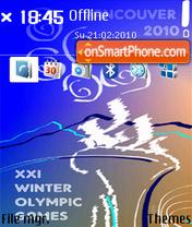 Vancouver Olympic 2 01 es el tema de pantalla