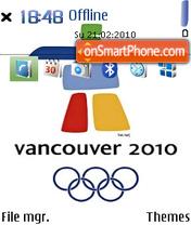 Vancouver Olympic 2010 2 es el tema de pantalla