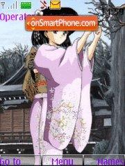 Hotaru Tomoe (Sailor Moon) theme screenshot