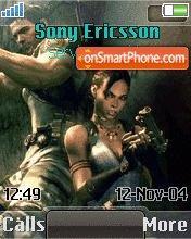 Resident Evil 5 v.1.1 es el tema de pantalla