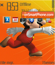 Mario Orange3 theme screenshot