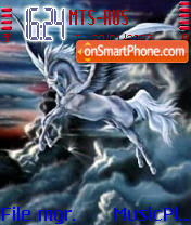 Pegasus theme screenshot