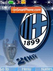 Milan 2010 theme screenshot