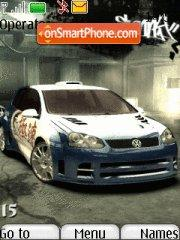 Nfs Most Wanted 08 es el tema de pantalla