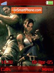 Resindent Evil 5 v.1.3 Revolution 1.2 es el tema de pantalla
