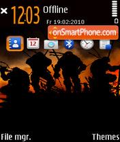 Warriors 02 es el tema de pantalla