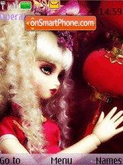Beauty Dolls theme screenshot