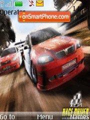 Race driver es el tema de pantalla