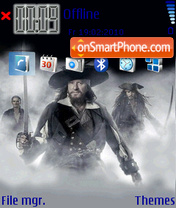 Pirates of the Caribbean v1 es el tema de pantalla