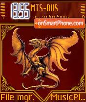 Dragon 2 theme screenshot