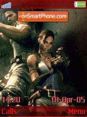 Resindent Evil 5 v.1.4 Revolution 1.2 es el tema de pantalla