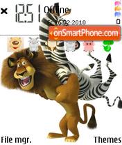 Madagascar 2 04 theme screenshot