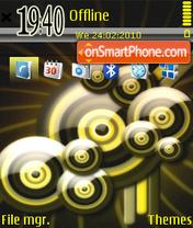 3D Illusion Vector FP1 theme screenshot