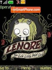 Lenore theme screenshot