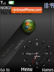 Windows Mobile 2011 theme screenshot