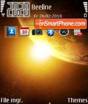 Space 12 theme screenshot