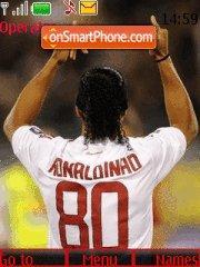 Ronaldinho in milan es el tema de pantalla