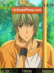 Hihara Kazuki (La cordo d'Oro) theme screenshot