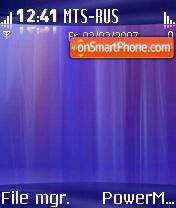 Avalon theme screenshot