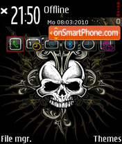 Skulls v5 es el tema de pantalla