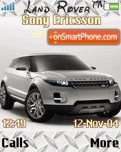 Land Rover 01 es el tema de pantalla