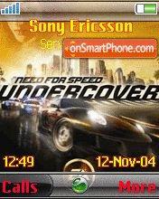 Need For Speed 10 es el tema de pantalla