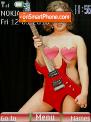 Girls & guitars 2 es el tema de pantalla