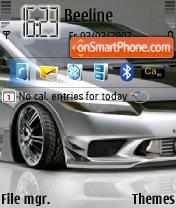Honda Tuning theme screenshot