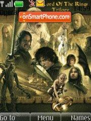The Lord Of The Ring es el tema de pantalla
