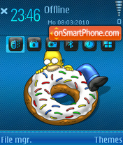 Homer 05 es el tema de pantalla