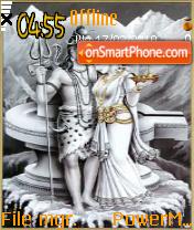 Shiv Parvati theme screenshot