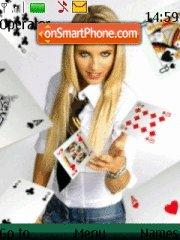 Ace Girl theme screenshot