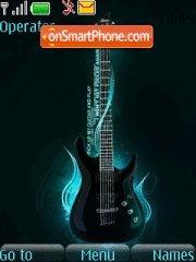 Guitar New 01 es el tema de pantalla