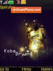 Kobe Bryant 02 theme screenshot