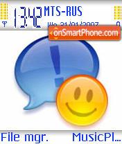 Hello Messenger theme screenshot