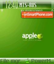 Apple Theme es el tema de pantalla