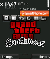 GTA San Andreas 08 theme screenshot